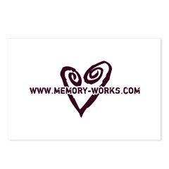 Heart Logo Postcards (8 PK)