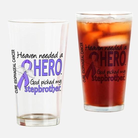 Esophageal Cancer HeavenNeededHero1 Drinking Glass