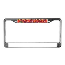 Tree Of Life Peace & Sorrow - License Plate Frame