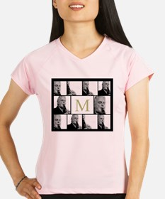 Photo Block with Monogram Performance Dry T-Shirt