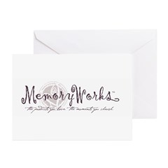 MemoryWorks Logo Greeting Cards (10 PK)