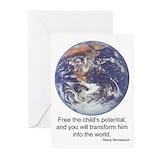 Montessori Greeting Cards (20 Pack)