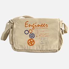 Engineer tshirt Messenger Bag