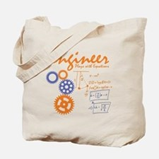 Engineer tshirt Tote Bag