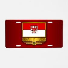 Brandenburg Aluminum License Plate