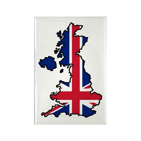 Cool British Rectangle Magnet (10 pack)