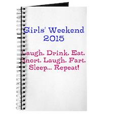Girls' Weekend 2015 Journal