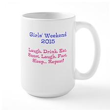 Girls' Weekend 2015 Mugs