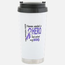 Esophageal Cancer Heave Travel Mug