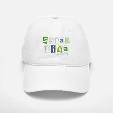 Scrap Diva (IT) Blue Baseball Baseball Cap