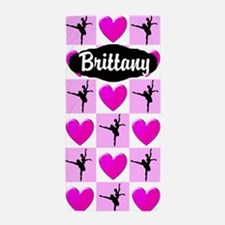Ballerina Girl Beach Towel