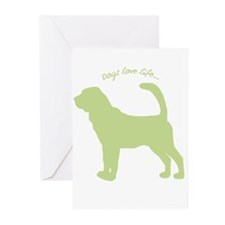 Dogs Love Life! Greeting Cards (Pk of 20)