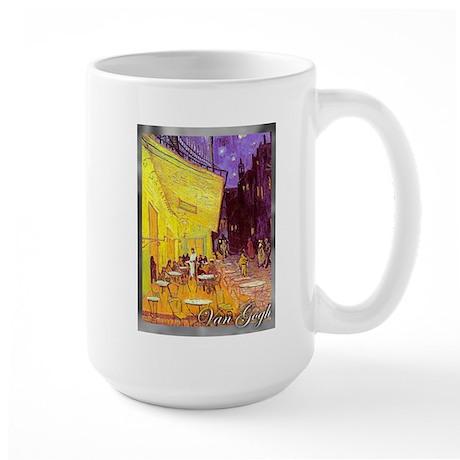 Van Gogh Cafe Terrace Large Mug