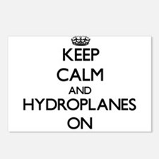 Keep Calm and Hydroplanes Postcards (Package of 8)