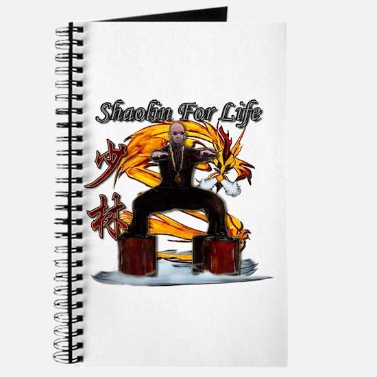 Shaolin Kanji Dragon Monk Journal