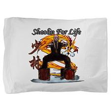 Shaolin Kanji Dragon Monk Pillow Sham