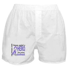 Esophageal Cancer HeavenNeededHero1 Boxer Shorts