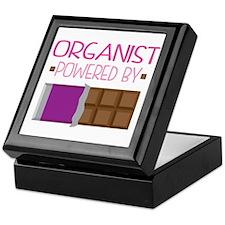 Organist Funny Music Keepsake Box