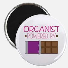 Organist Funny Music Magnet