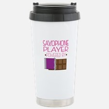 Saxophone Player (Funny Stainless Steel Travel Mug