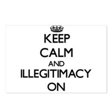 Keep Calm and Illegitimac Postcards (Package of 8)
