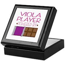 Viola Player Keepsake Box