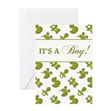IT'S A BOY! Greeting Card