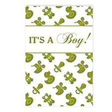 IT'S A BOY! Postcards (Package of 8)