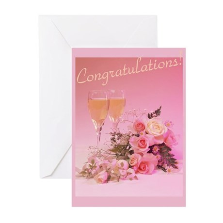"""""""Congratulations"""" Greeting Cards (Pk of 10)"""