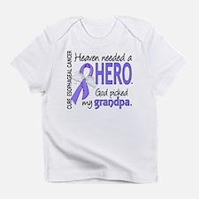 Esophageal Cancer HeavenNeededHero1 Infant T-Shirt