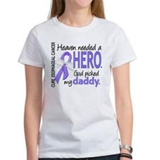 Esophageal Cancer HeavenNeededHero Tee