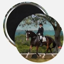 "Woodside Trot Dressage Horse 2.25"" Magnet (10 pac"