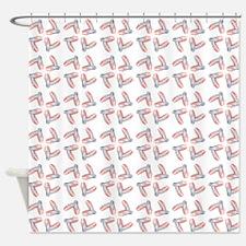 PINK SATIN BALLET Shower Curtain