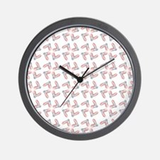 PINK SATIN BALLET Wall Clock