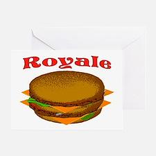 ROYALE Greeting Card