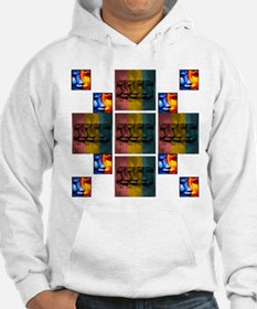 TWO SIDES PUZZLE Hoodie