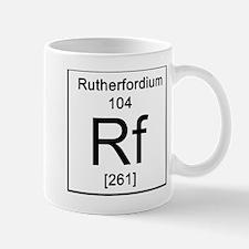 104. Rutherfordium Mug