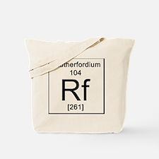 104. Rutherfordium Tote Bag