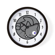 Fluffball Bat Wall Clock