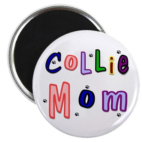 Collie Mom Magnet