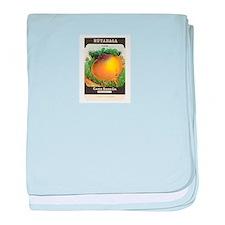 Rutabaga baby blanket