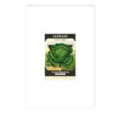 Cabbage Postcards (package Of 8)
