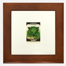 Cabbage Framed Tile