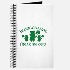 Leprechauns Freak Me Out! Journal