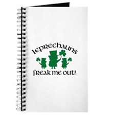 Leprechauns Freak Me Out! Journal