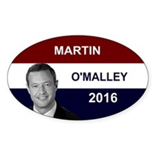 Martin O'Malley President 2016 Decal