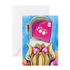Yorkie Love Letter Greeting Cards