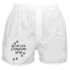 Bluetick Coonhound Mom Boxer Shorts