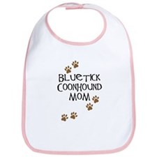 Bluetick Coonhound Mom Bib