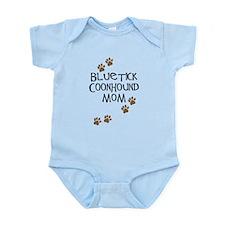 Bluetick Coonhound Mom Infant Bodysuit